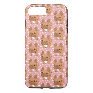 私はFrenchie愛します iPhone 8 Plus/7 Plusケース