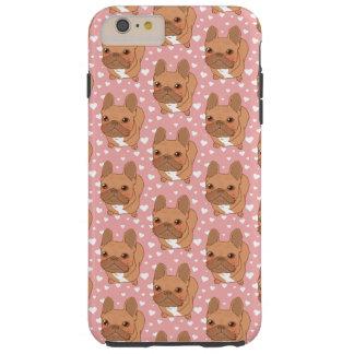 私はFrenchie愛します Tough iPhone 6 Plus ケース