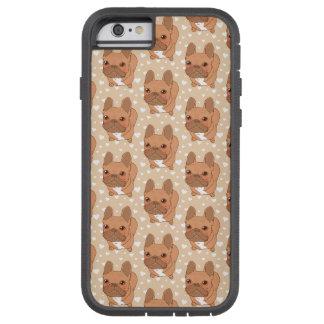 私はFrenchie愛します Tough Xtreme iPhone 6 ケース