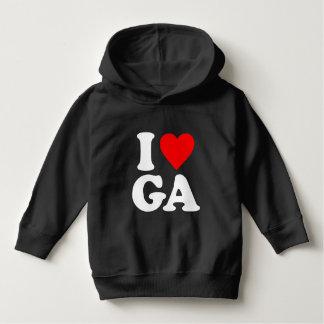 私はGAを愛します パーカ