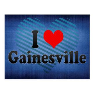 私はGainesville、米国を愛します ポストカード