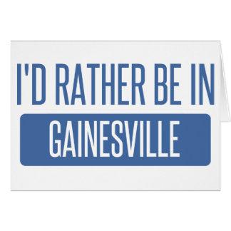 私はGainesville GAにむしろいます カード
