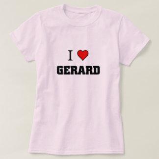 私はGerardを愛します Tシャツ