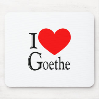 私はGoetheを愛します マウスパッド