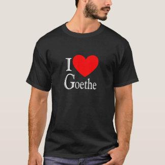私はGoetheを愛します Tシャツ
