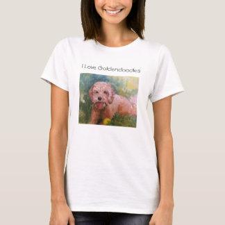 私はGoldendoodlesのTシャツを愛します Tシャツ