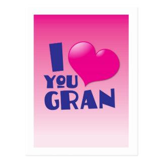 私はGran愛します! ポストカード