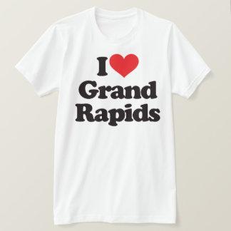 私はGrand Rapidsを愛します Tシャツ