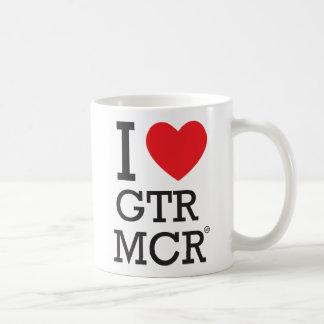 私はGTR MCRを愛します コーヒーマグカップ