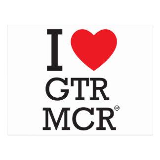 私はGTR MCRを愛します ポストカード