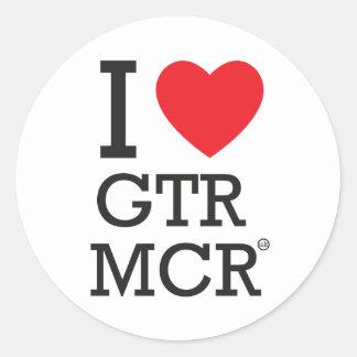 私はGTR MCRを愛します ラウンドシール