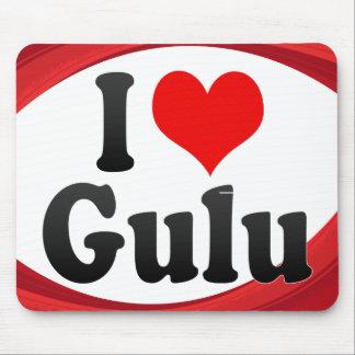 私はGulu、ウガンダを愛します マウスパッド