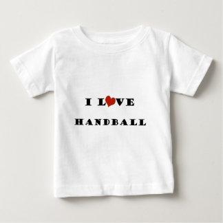 私はHandball.pngを愛します ベビーTシャツ