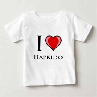 私はHapkidoを愛します ベビーTシャツ