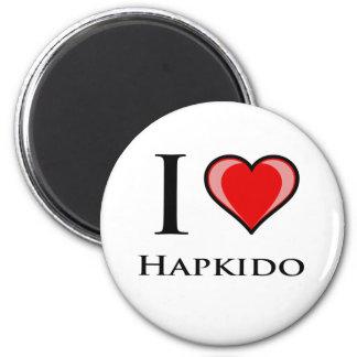 私はHapkidoを愛します マグネット