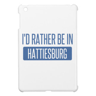 私はHattiesburgにむしろいます iPad Mini カバー