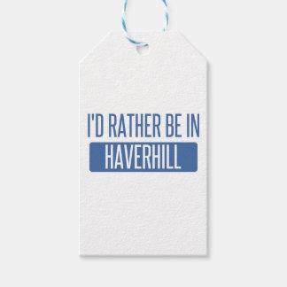 私はHaverhillにむしろいます ギフトタグ