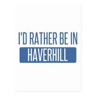 私はHaverhillにむしろいます ポストカード
