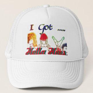 私はHella H ** sのトラック運転手の帽子--を得ました キャップ