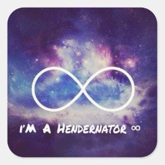 私はHendernatorです スクエアシール