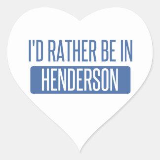 私はHendersonにむしろあります ハートシール