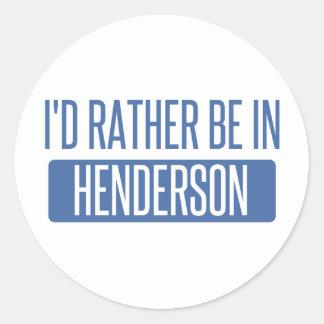 私はHendersonにむしろあります ラウンドシール