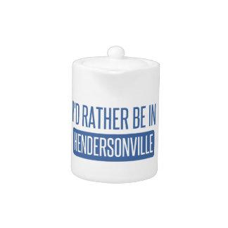 私はHendersonvilleにむしろいます