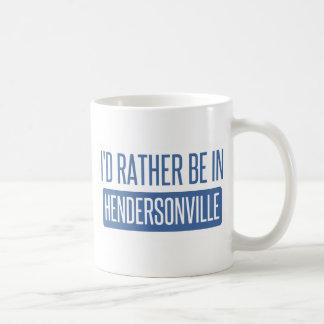 私はHendersonvilleにむしろいます コーヒーマグカップ