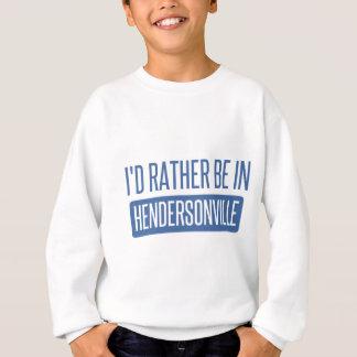 私はHendersonvilleにむしろいます スウェットシャツ