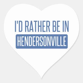 私はHendersonvilleにむしろいます ハートシール