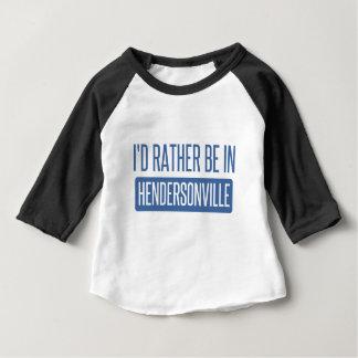 私はHendersonvilleにむしろいます ベビーTシャツ
