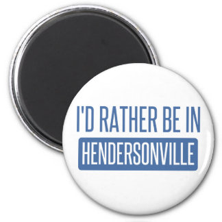 私はHendersonvilleにむしろいます マグネット