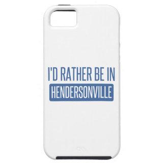私はHendersonvilleにむしろいます iPhone SE/5/5s ケース