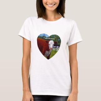 私はHEREFORDSを愛します Tシャツ