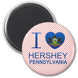 私はHershey、PAを愛します マグネット