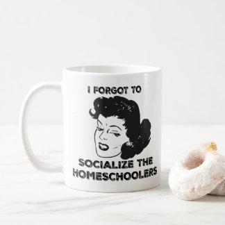 私はHomeschoolersのマグを社会的ニするために忘れました コーヒーマグカップ