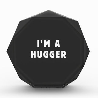 私はhuggerです 表彰盾