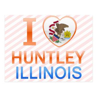 私はHuntley、ILを愛します ポストカード