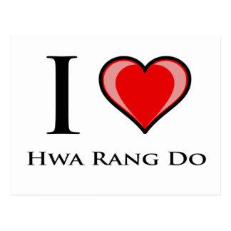 私はHwa Rang愛します ポストカード