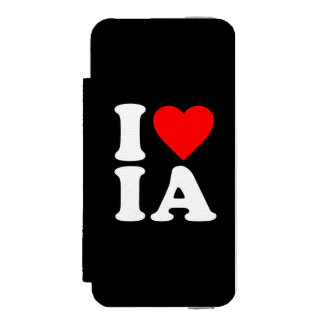 私はIAを愛します INCIPIO WATSON™ iPhone 5 財布 ケース