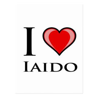 私はIaidoを愛します ポストカード