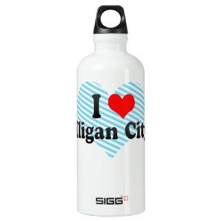 私はIligan都市、フィリピンを愛します ウォーターボトル