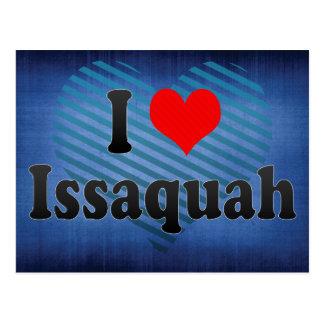 私はIssaquah、米国を愛します ポストカード