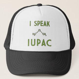 私はIUPACのトラック運転手の帽子を話します キャップ