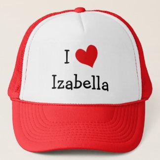 私はIzabellaを愛します キャップ