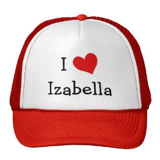 私はIzabellaを愛します 帽子