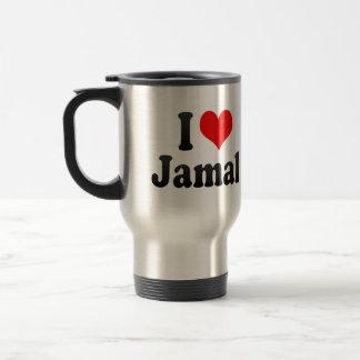 私はJamalを愛します トラベルマグ