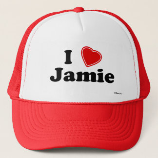 私はJamieを愛します キャップ