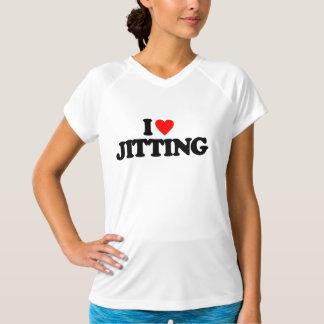 私はJITTINGを愛します Tシャツ