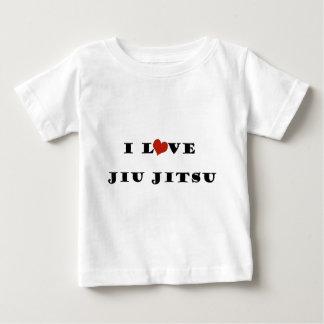 私はJiu Jitsu.pngを愛します ベビーTシャツ